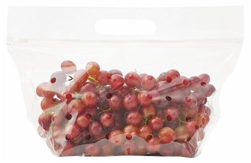 Red Seedless Grapes Perspective: back