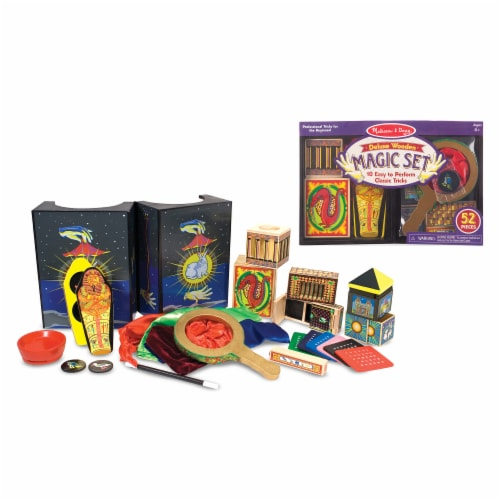 Melissa and Doug® Deluxe Magic Set Perspective: back