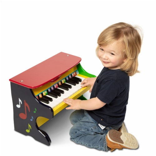 Melissa and Doug® Learn-to-Play Piano Perspective: back