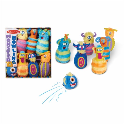 Melissa & Doug® Monster Bowling Perspective: back