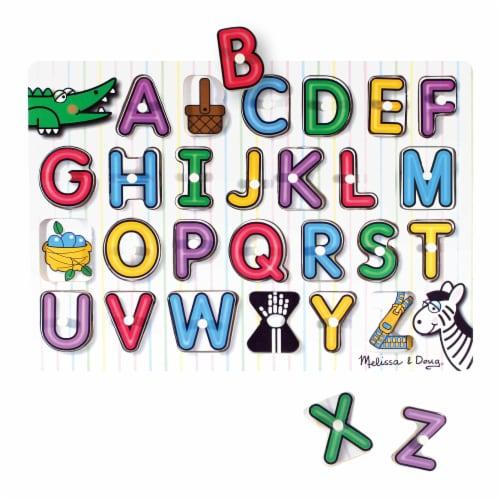 Melissa & Doug® Classic Peg Puzzle Bundle Perspective: back