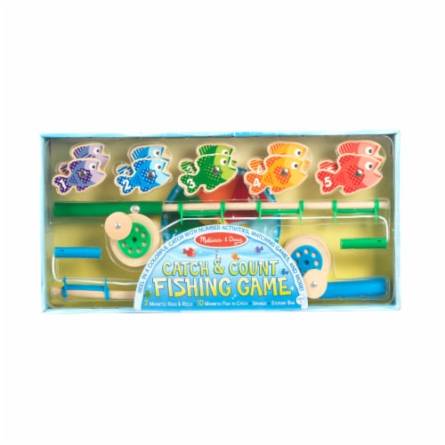 Melissa & Doug® Catch and Count Fishing Game Perspective: back