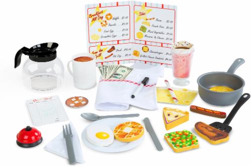 Melissa and Doug® Star Diner Restaurant Play Set Perspective: back