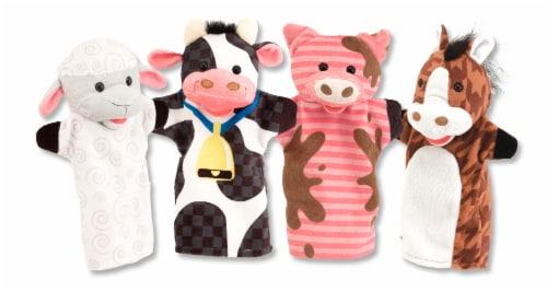 Melissa & Doug® Farm Friends Hand Puppets Perspective: back