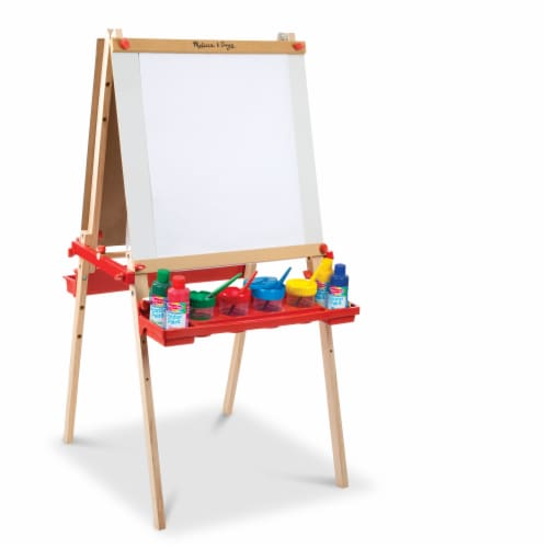 Melissa & Doug® Deluxe Magnetic Art Easel Perspective: back