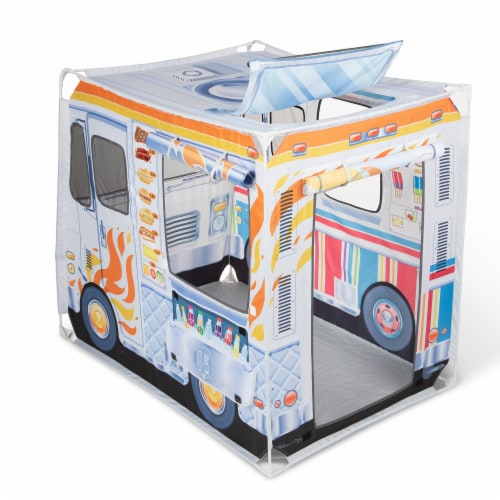 Melissa & Doug® Food Truck Play Tent Perspective: back