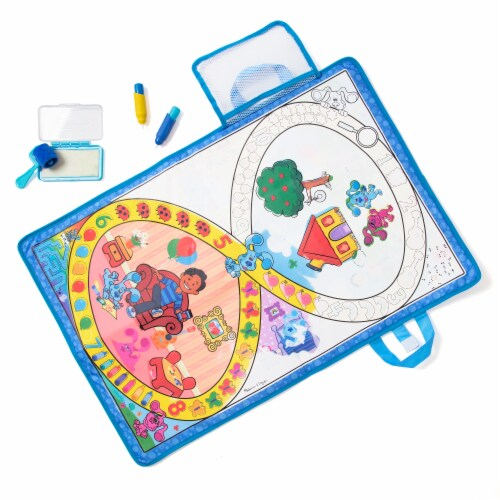 Melissa & Doug Blues Clues Water Wow Mat Perspective: back
