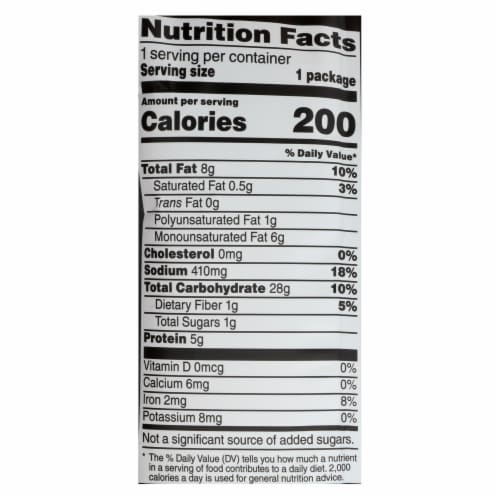 Stacey's Pita Chips - Simply Naked - 1.5 oz - Case of 24 Perspective: back