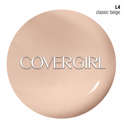 CoverGirl TruBlend Classic Beige Liquid Foundation Perspective: back