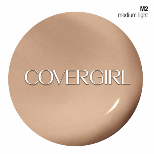 CoverGirl TruBlend Makeup Medium Light Foundation Perspective: back