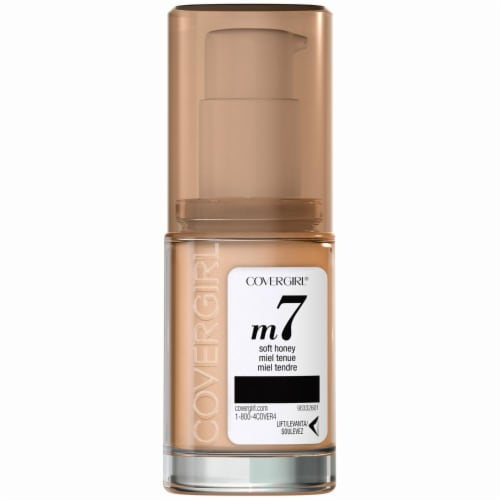 CoverGirl TruBlend Makeup Soft Honey Foundation Perspective: back