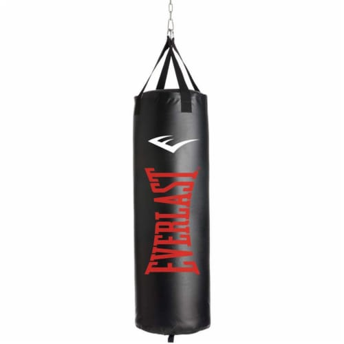 Everlast 100 LB Nevatear Heavy Bag Boxing Kit w/ Pro-Style Gloves and Hand Wraps Perspective: back