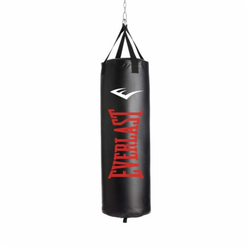 Everlast 3 Piece Set 100 Pound Heavy Bag, Speed Bag and Double End Bag Perspective: back