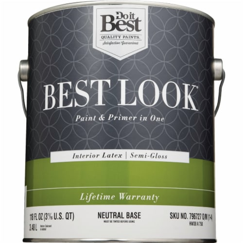 Do it Best Int S/G Neutral Bs Paint HW38A0750-16 Perspective: back