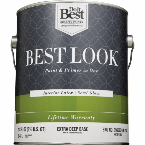 Do it Best Int S/G Ex Deep Bs Paint HW38W0803-16 Perspective: back