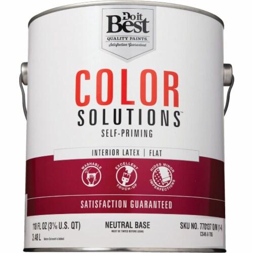 Do it Best Int Flt Neutral Bs Paint CS46A0705-16 Perspective: back