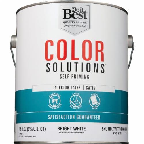Do it Best Int Sat Bright Wht Paint CS42W0726-16 Perspective: back