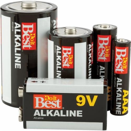 Do it Best C Alkaline Battery (4-Pack) DIB814-4 Perspective: back