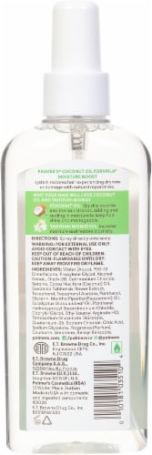 Palmer's Coconut Oil Formula Strong Roots Spray Oil Perspective: back