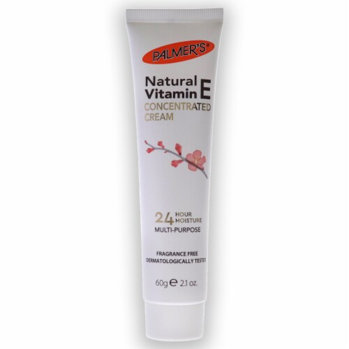 Palmers Natural Vitamin E Concentrated Cream 2.1 oz Perspective: back