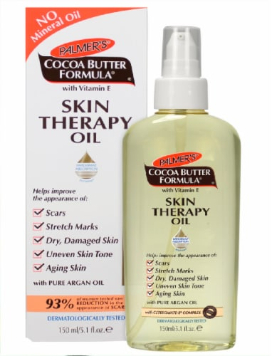 Palmer's® Cocoa Butter Formula Skin Therapy Oil Perspective: back