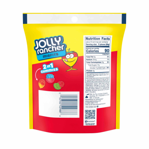 Jolly Rancher Misfits Perspective: back
