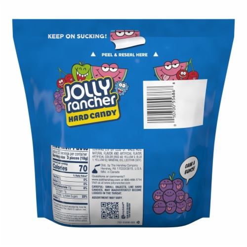 Jolly Rancher Hard Candy Perspective: back