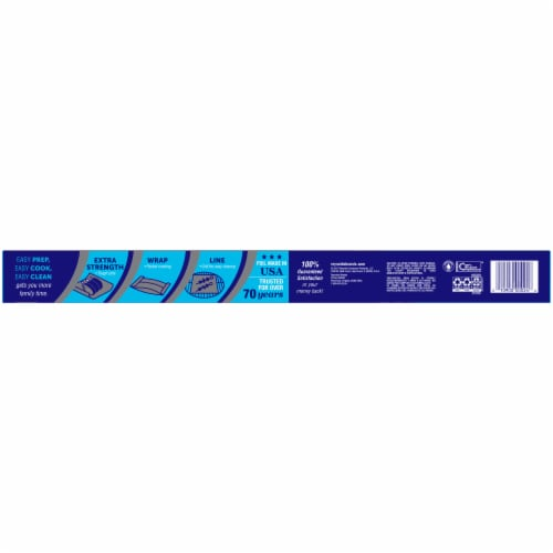 Reynolds Wrap Heavy Duty Aluminum Foil Perspective: back