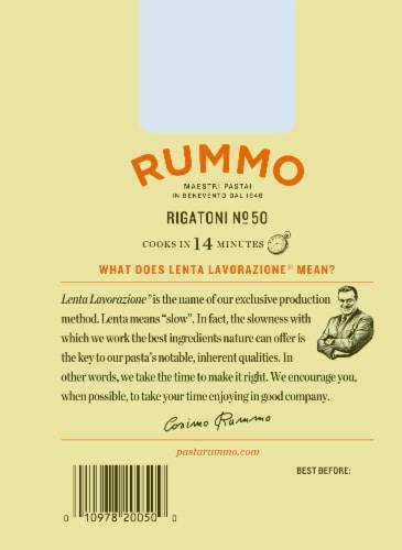 Rummo Rigatoni No. 50 Pasta Perspective: back