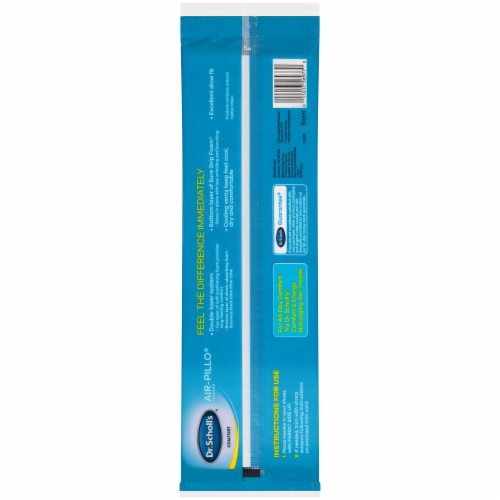 Dr. Scholl's Comfort Air-Pillo Insoles Perspective: back