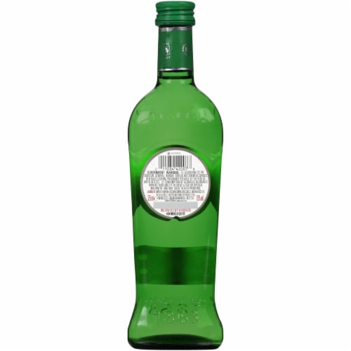 Martini & Rossi Extra Dry Vermouth Perspective: back