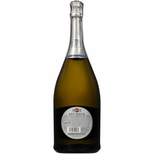 Martini & Rossi White Asti Sparkling Wine Perspective: back
