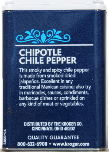 Kroger® Chipotle Chile Pepper Perspective: back