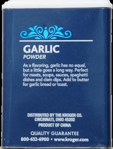Kroger® Garlic Powder Perspective: back