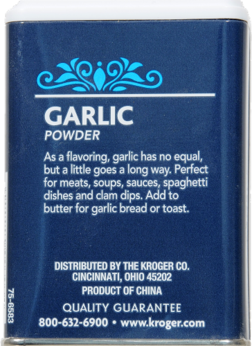 Kroger® Garlic Powder Perspective: back