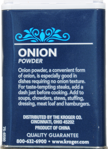 Kroger® Onion Powder Perspective: back