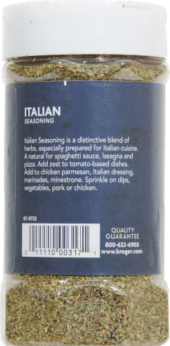 Kroger® Italian Seasoning Perspective: back