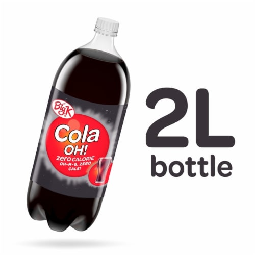 Big K® Cola Oh! Zero Calorie Soda Perspective: back
