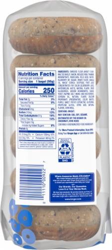 Kroger® Blueberry Bagels Perspective: back