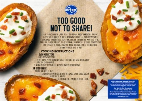 Kroger® Cheddar & Bacon Potato Skins Perspective: back