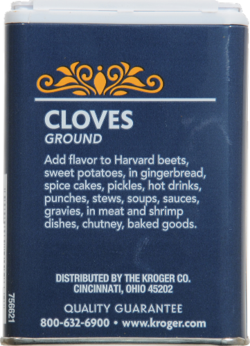 Kroger® Ground Cloves Perspective: back
