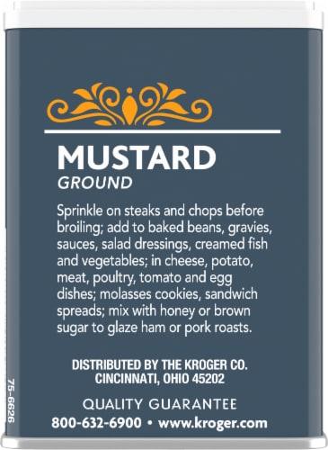 Kroger® Ground Mustard Perspective: back