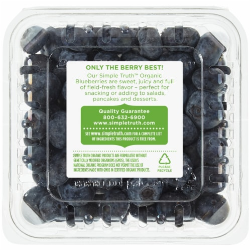 Simple Truth Organic™ Blueberries Perspective: back
