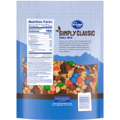 Kroger® Simply Classic Trail Mix Perspective: back
