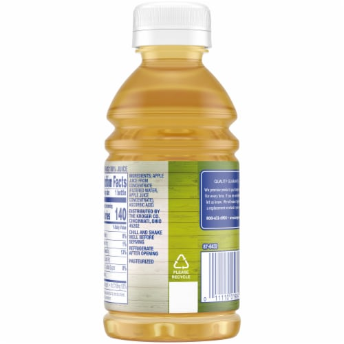 Kroger® 100% Apple Juice Perspective: back