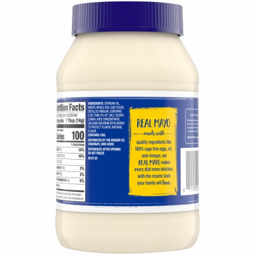 Kroger® Classic Mayonnaise Perspective: back