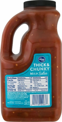 Kroger® Thick & Chunky Mild Salsa Perspective: back