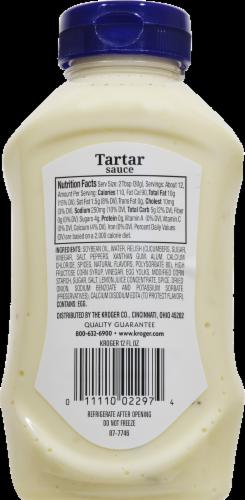 Kroger® Tartar Sauce Squeeze Bottle Perspective: back