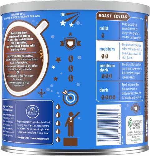 Kroger® Select Blend Medium Roast Ground Coffee Perspective: back