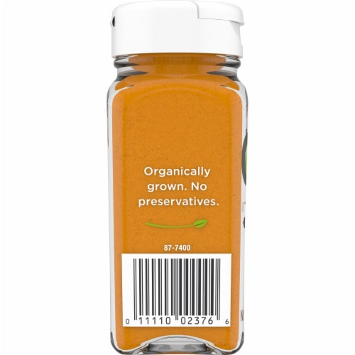 Simple Truth Organic™ Ground Turmeric Perspective: back